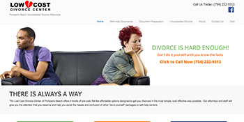 low cost divorce center.com
